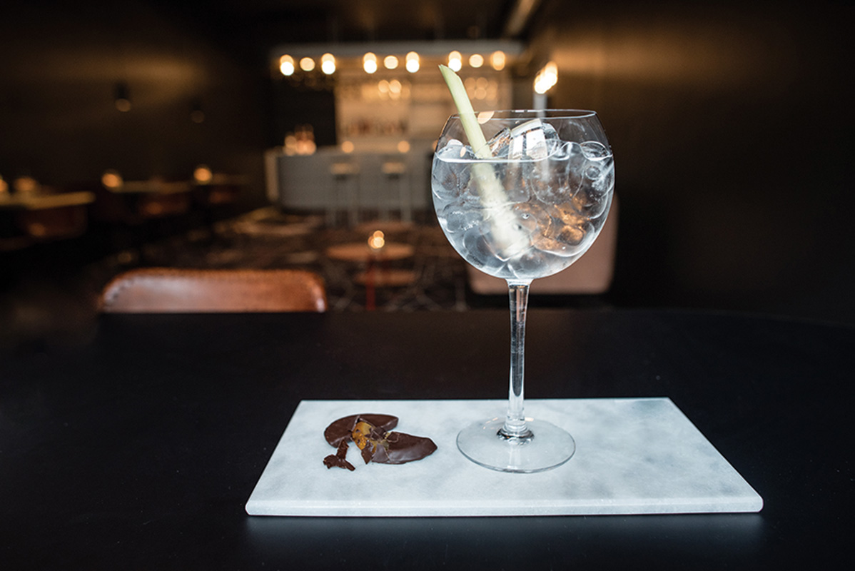 Mabi Bar Twisted  Gin Tonic